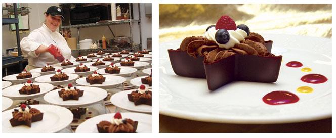 high end desserts