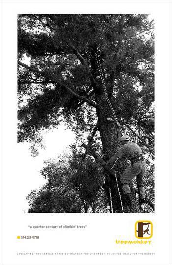 mock flyer for tree trimmer