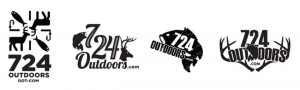 724outdoors logo concept development