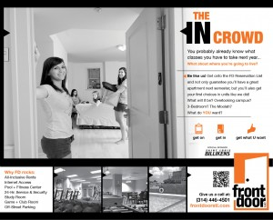 print ad for FrontDoor LLC